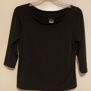 Great Lightweight Blouse with scoop neck.